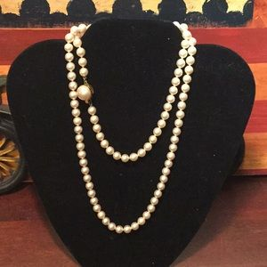 Majorica Set Of Pearls, 30""
